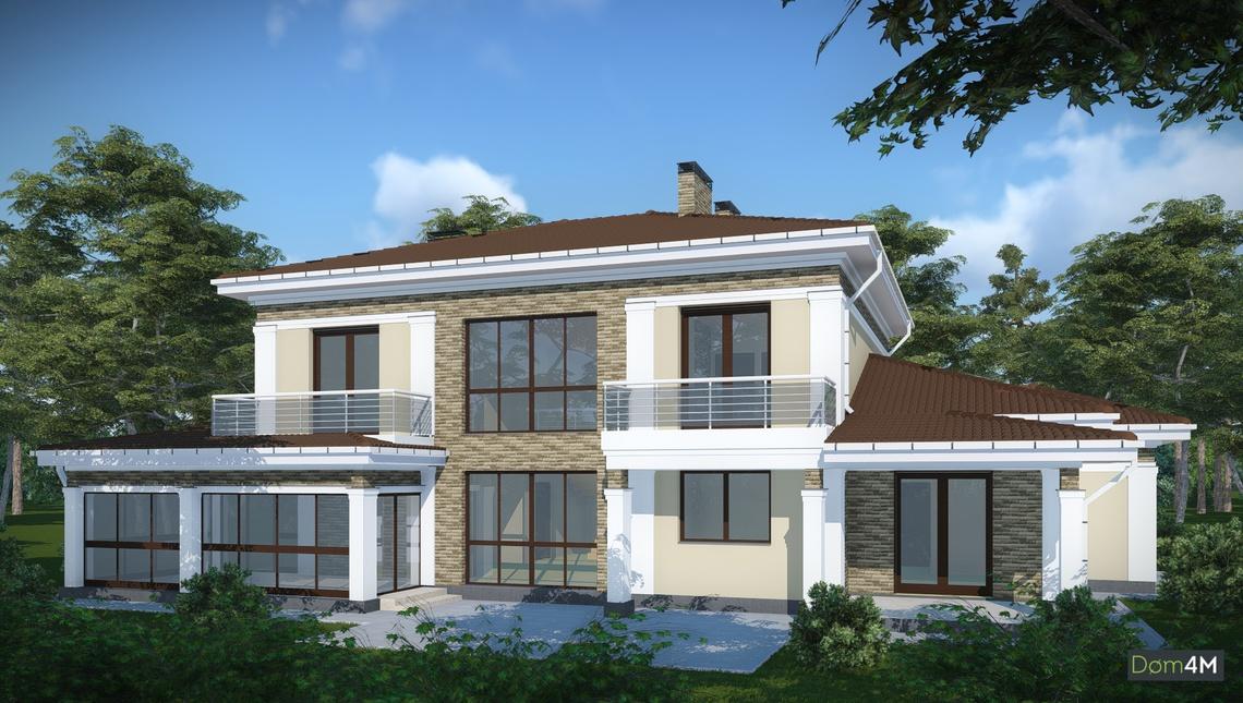 Проекты домов индивидуальные и типовые