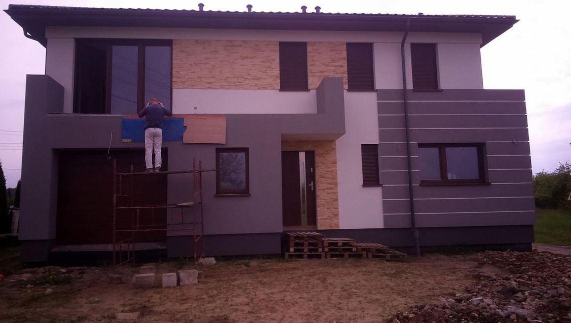 Проект современного двухэтажного коттеджа