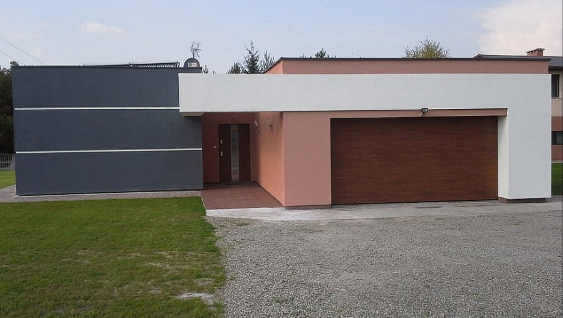 Проект дома в стиле модерн