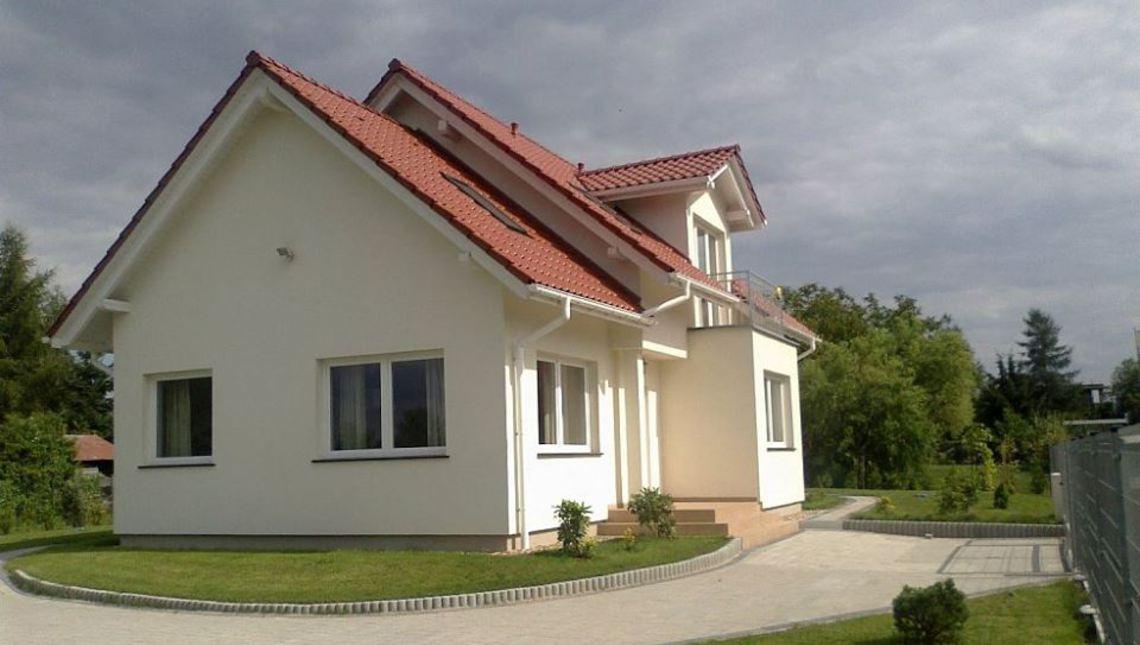 Проект классического дома с элементами модерна