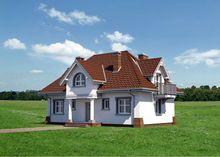 Великолепный светлый дом с мансардой