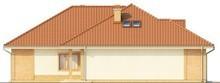 Проект одноэтажного коттеджа с гаражом для 2 машин