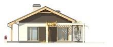 Проект комфортного классического одноэтажного дома с гаражом