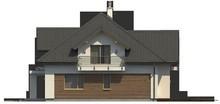 Проект просторного дома с гаражом для двух авто