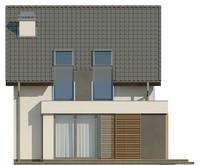 Проект экономичного дома для узкого участка