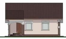 Проект для строительства компактного домика 70 m²