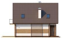 Проект дома для узкого участка
