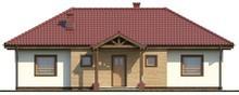 Проект симметричного одноэтажного дома