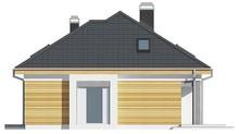 Проект дома с дополнительными комнатами на первом этаже
