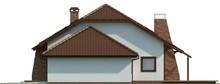 Проект дома с мансардой и гаражом для двух авто