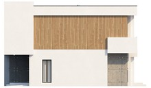 Проект коттеджа с кабинетом и гаражом