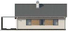 Проект небольшого классического одноэтажного дома