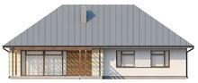 Проект одноэтажного классического коттеджа
