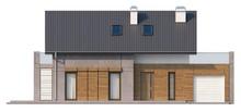 Проект коттеджа с террасой и современными элементами