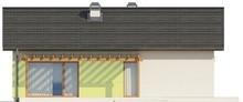 Проект небольшого дачного частного одноэтажного классического дома