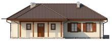 Проект одноэтажного дома с помещением для мансарды