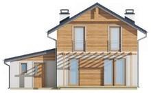 Проект 2х этажного классического просторного дома с мансардой и гаражом