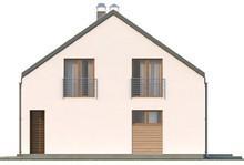 Проект дома с оригинальной необычной крышей