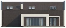 Проект современного коттеджа с двумя спальнями