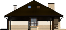 Проект просторного классического дома с мансардой