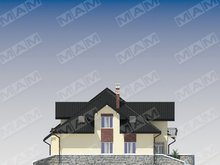 Шикарный большой дом на две семьи с двумя террасами