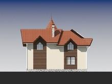 Оригинальный проект дома с комбинированным фасадом
