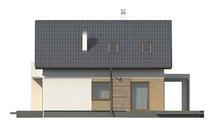 Версия проекта дома 4M116 с гаражом