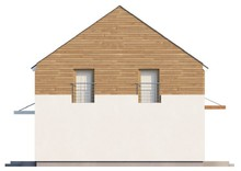 Проект дома с просторной гостиной