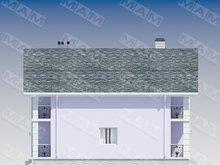 Проект коттеджа с балконами площадью 240 m²