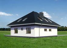 Проект симпатичной виллы с площадью 200 m²