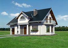Загородная вилла в современном стиле с площадью 210 m²