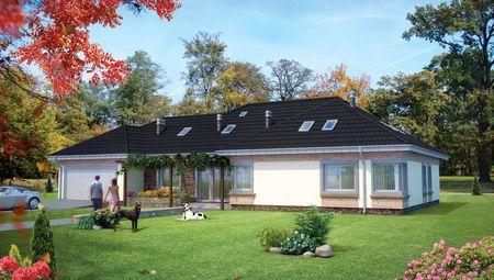 Роскошный загородный особняк в современном стиле 15 на 25 м