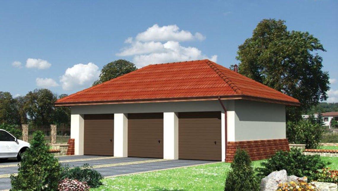 Проект гаража на 3 машины