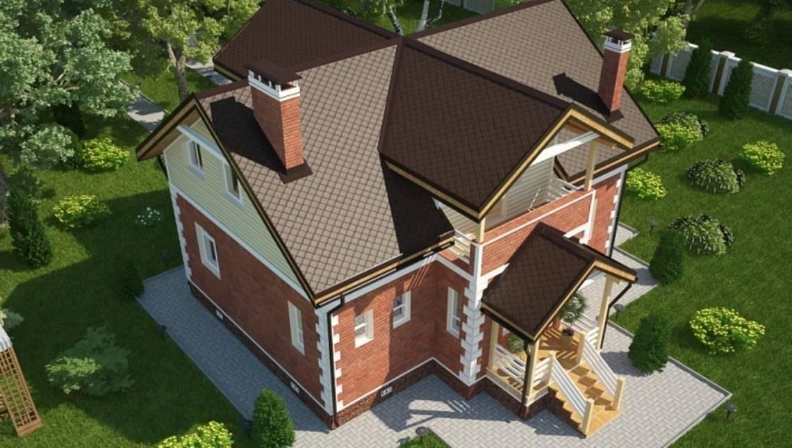 Проект дома 180 m²