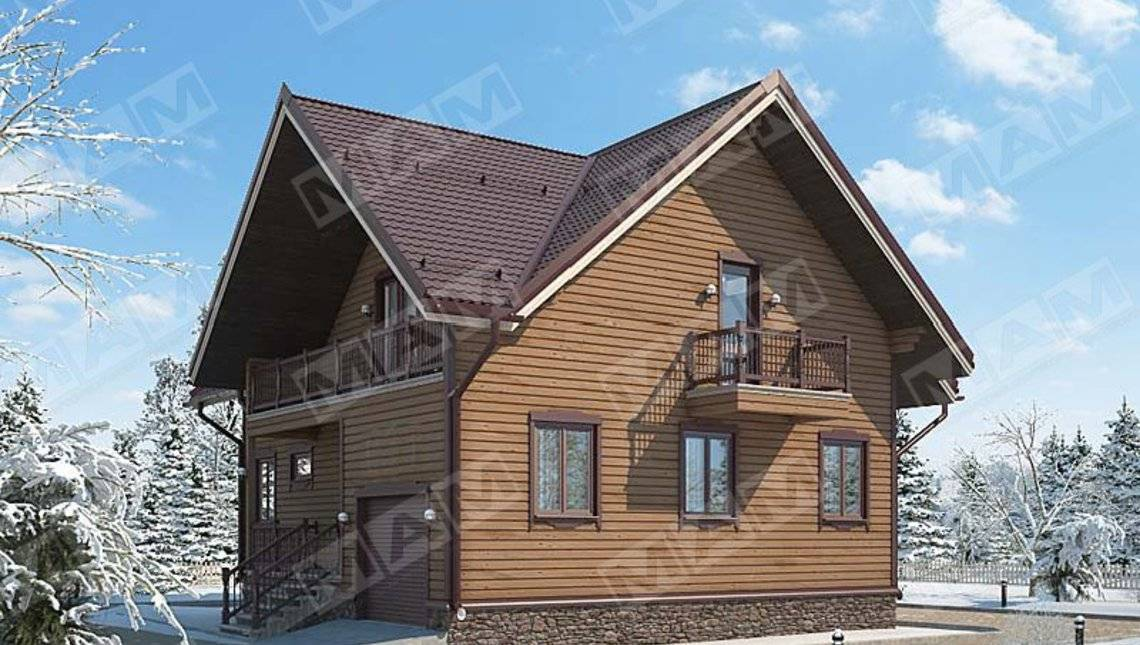 Проект классического дома 220 m²