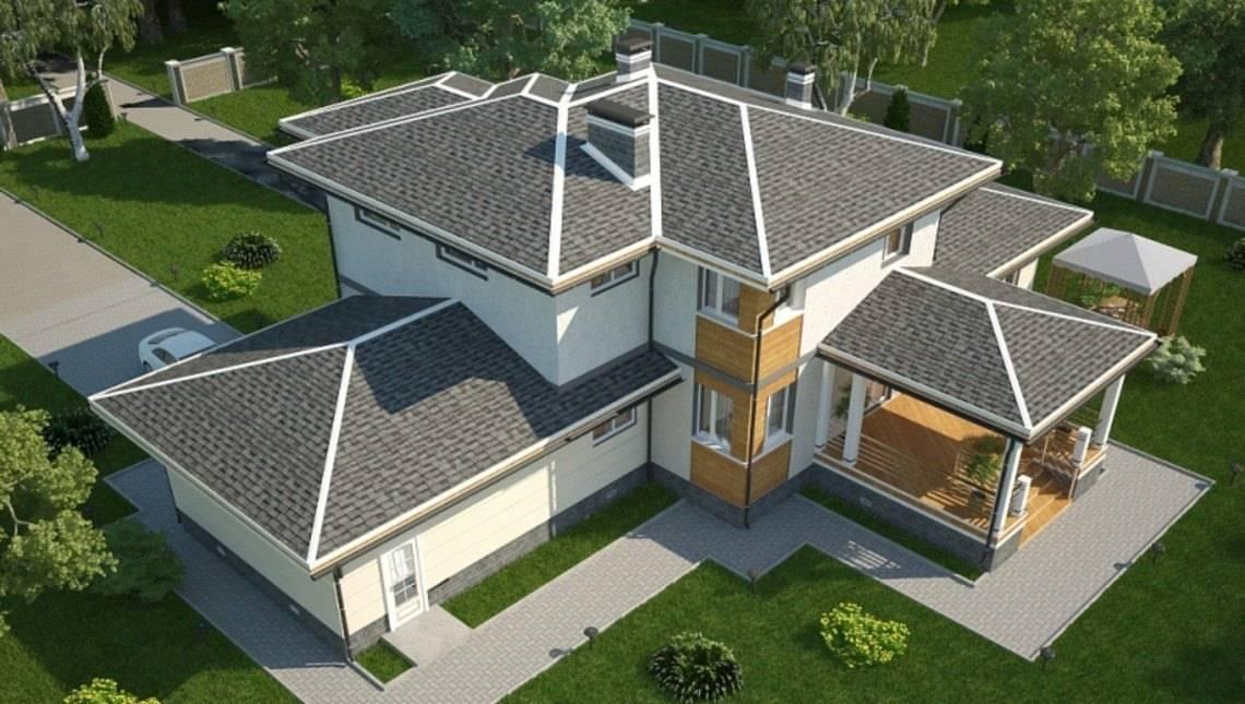 Проект загородного дома 300 m²