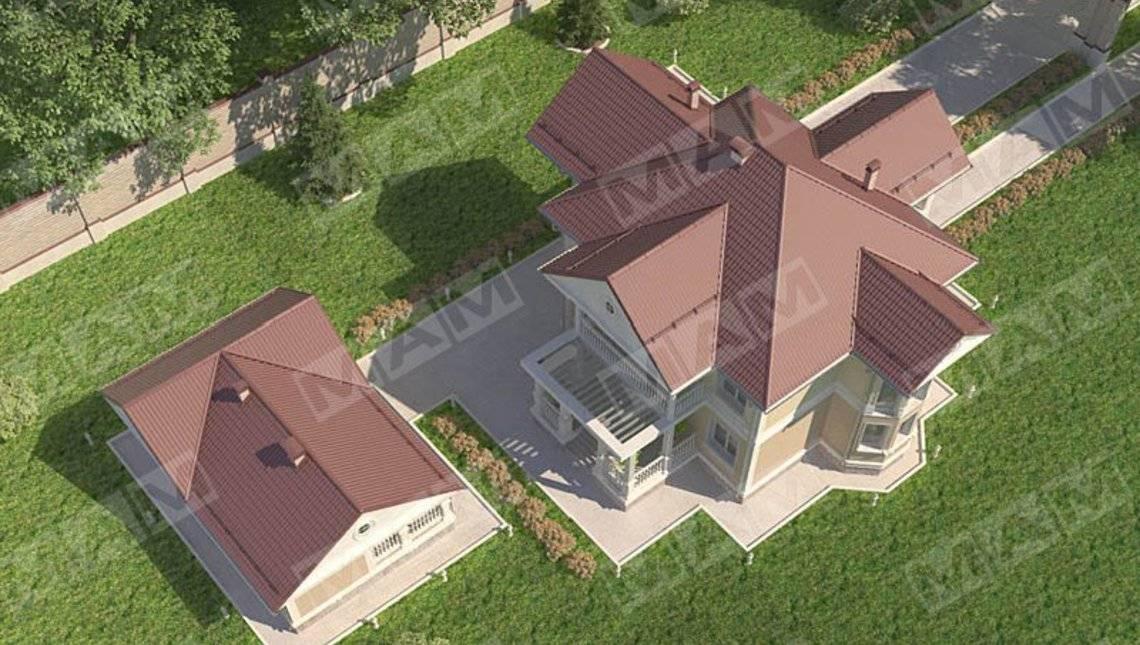 Архитектурный проект загородной виллы на 222 m²