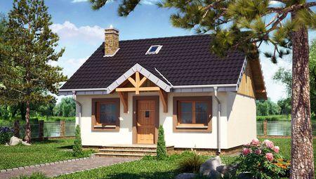 Маленький загородный коттедж для временного проживания или двух человек