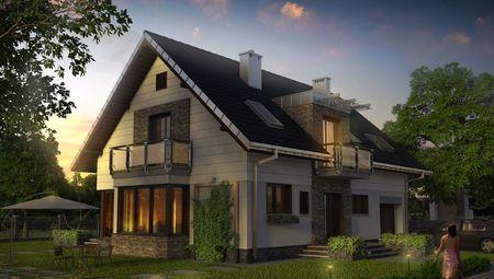 Проект великолепного особняка для счастливой семьи