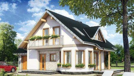 Архитектурный проект небольшого дома с площадью 150 М²