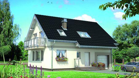 Симпатичный загородный дом с площадью 160 m²