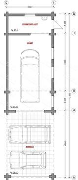 Проект удобного гаража с деревянным фасадом