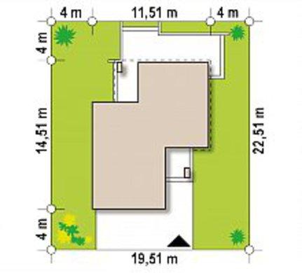 Современный компактный двухэтажный дом площадью 150 m²