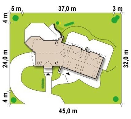 Проект частного мини отеля с бальным залом и рестораном