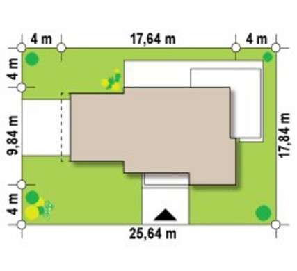 Проект двухэтажного особняка, выполненного в современном стиле