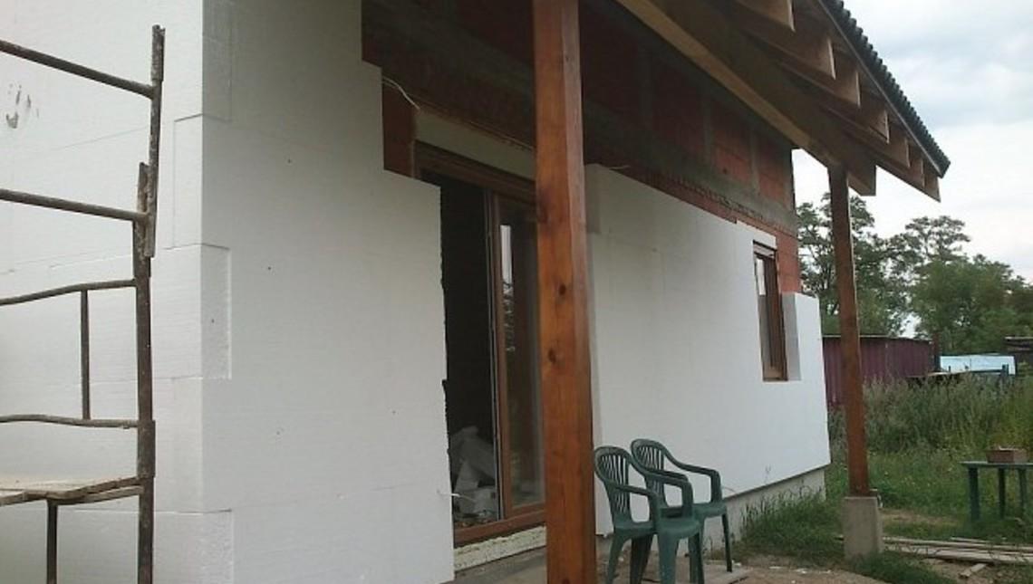 Проект дома с эркером и кабинетом на первом этаже