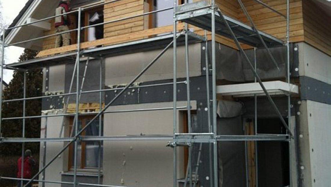 Проект дачного энергосберегающего дома для узкого участка