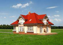 Привлекательный проект небольшого имения