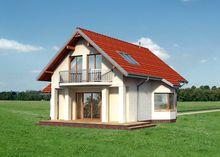 Красивый проект дома 12 на 12