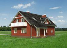 Уютный загородный дом с площадью 180 m²
